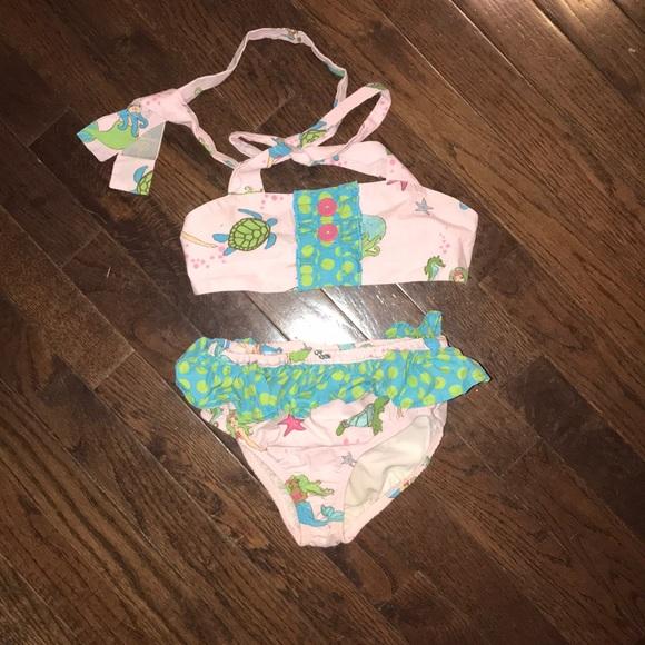 04b153b8a73c9 Eleanor Rose Other - Girls Eleanor Rose Mermaid Smocked Swimsuit